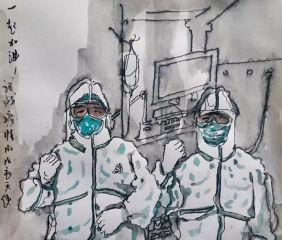 关于抗击疫情学生作文10篇