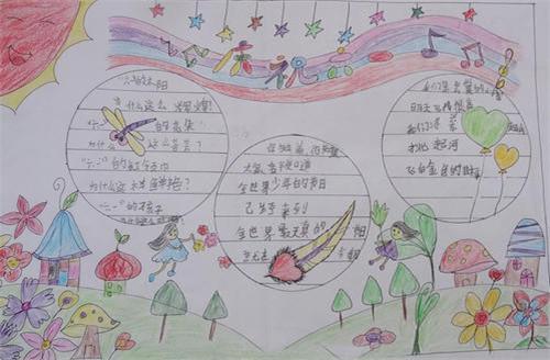 六一手抄报图片大全简单又漂亮_2020小学生六一儿童节手抄报