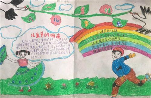 2020全新儿童节手抄报_六一儿童节手抄报素材图片