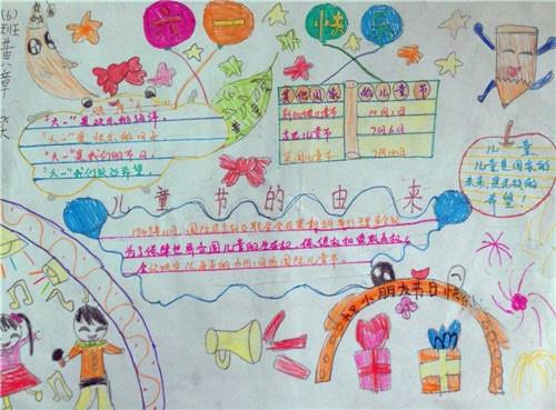 六一儿童节画第一名_儿童节手抄报简单漂亮
