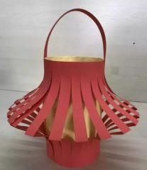 diy剪紙燈籠制作方法