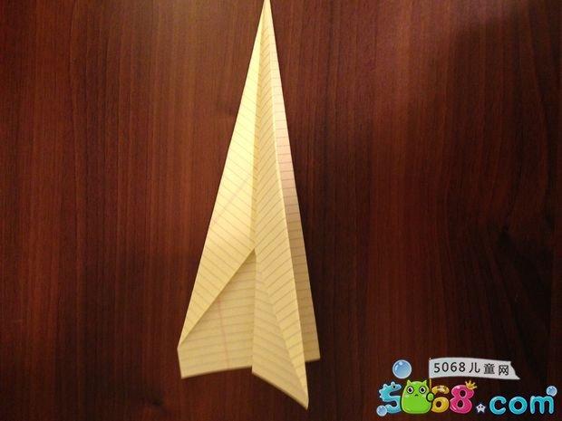 折纸飞机的方法教程