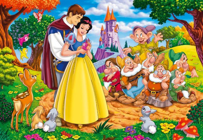 白雪公主的故事文字版
