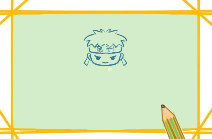 備戰高考上色簡筆畫要怎么畫
