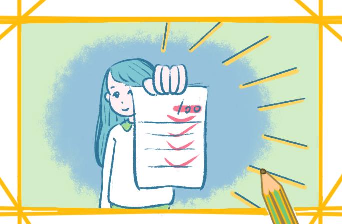 關于考試的簡筆畫要怎么畫