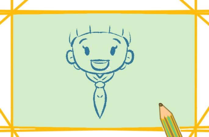 画一个小学生简笔画的图片怎么画