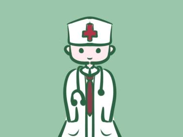 简单好看的医生上色简笔画要怎么画