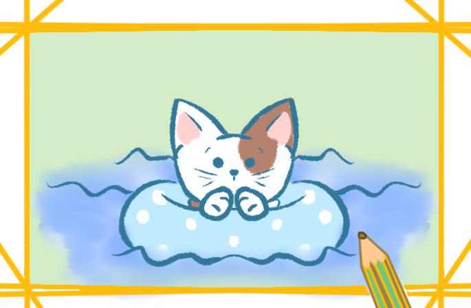 宠物猫怎样画最可爱又漂亮