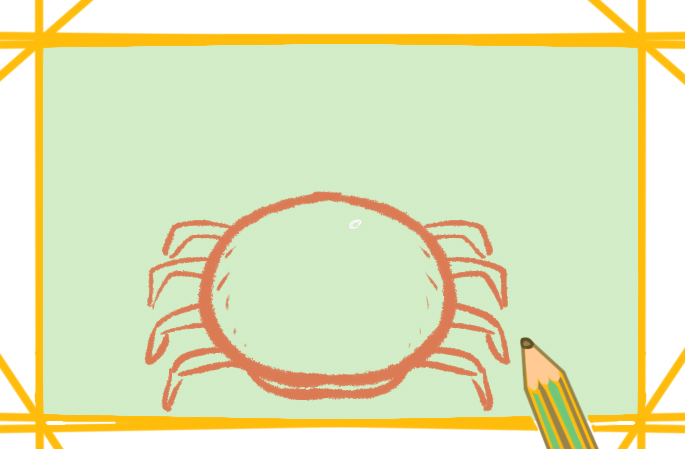 螃蟹怎么画漂亮又简单画法