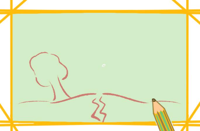 巨大的章鱼上色简笔画要怎么画