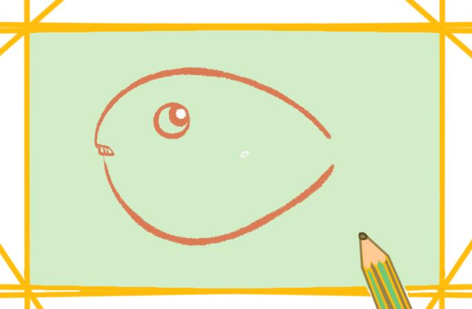 胖胖的河鲀上色简笔画要怎么画
