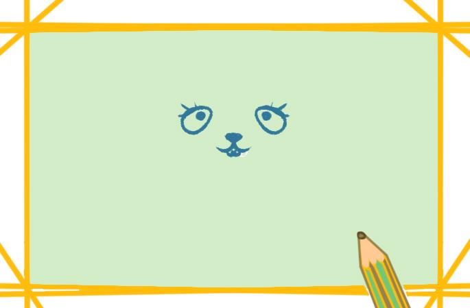 高智商的老鼠上色簡筆畫要怎么畫