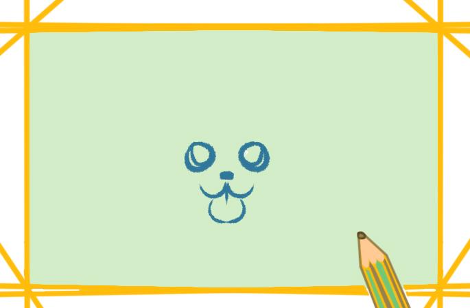 漂亮的耳廓狐上色简笔画要怎么画