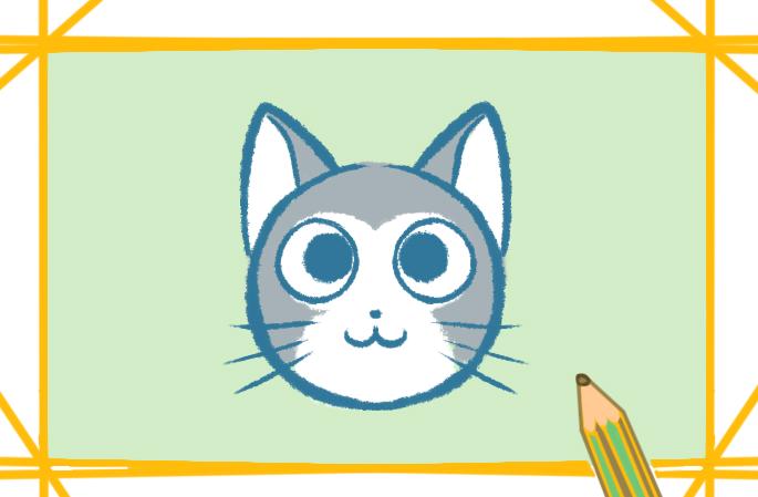 可爱好看的猫简笔画怎么画