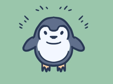 简单的企鹅简笔画教程步骤图片
