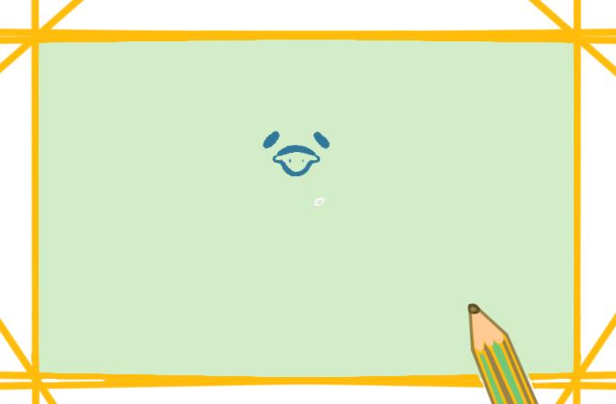 呆萌的企鹅上色简笔画要怎么画