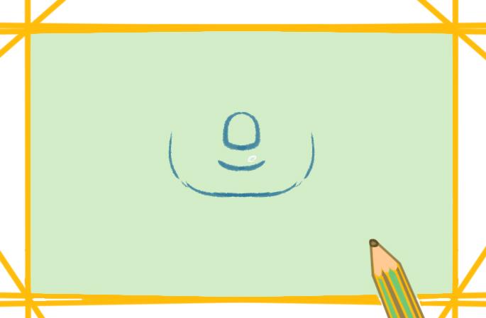 慵懶的樹懶上色簡筆畫圖片教程步驟