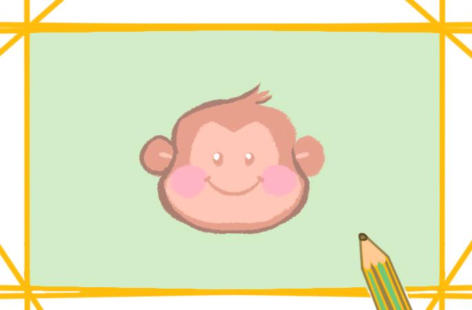 好看有趣的猴子简笔画怎么画