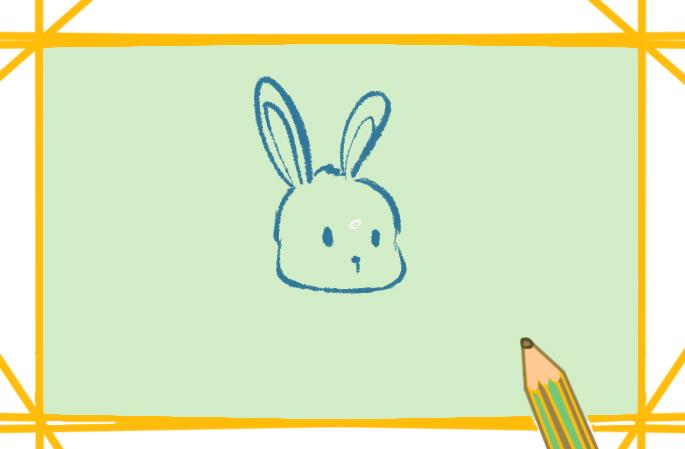 漂亮的兔子简笔画图片大全教程