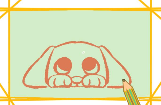 委屈的狗狗的圖片怎么畫簡筆畫