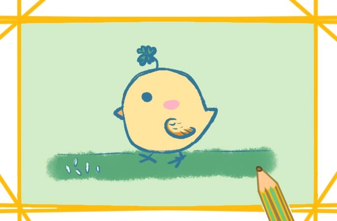 可愛的雞寶寶簡筆畫圖片怎么畫