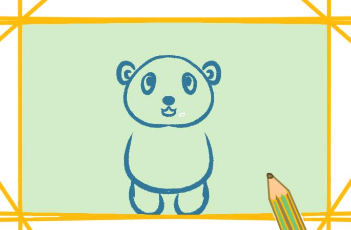 玩具熊怎么画最简单