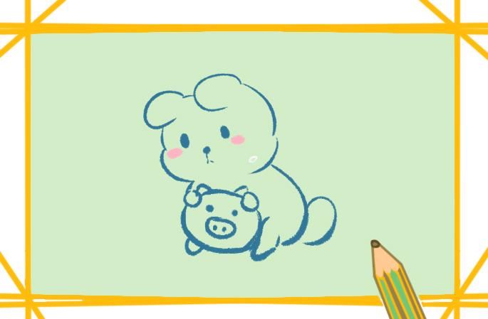 白兔可爱卡通的图片怎么画好看有趣