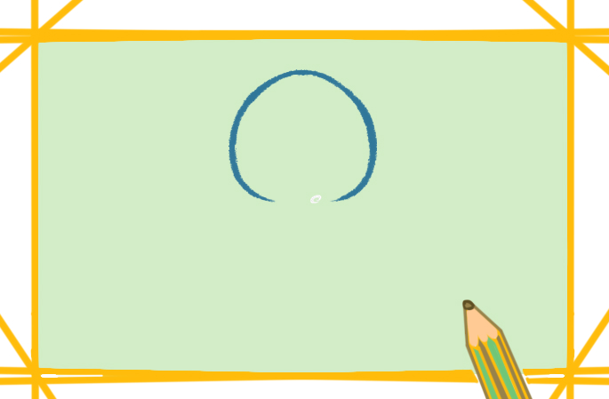 开心的章鱼上色简笔画要怎么画