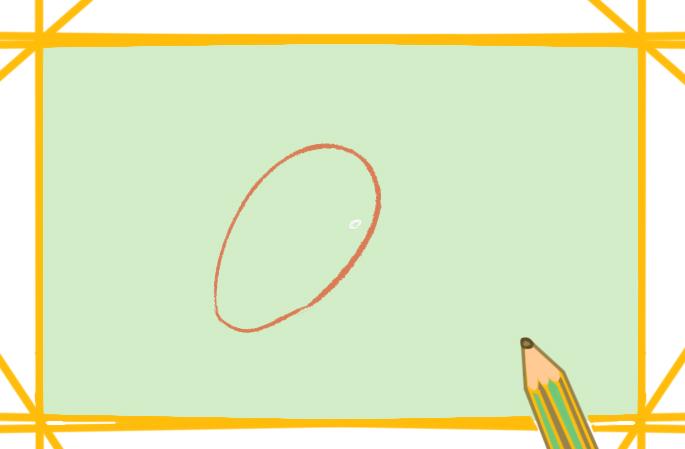 卡通小芒果上色简笔画要怎么画