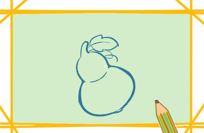 好看的葫芦上色简笔画图片教程步骤
