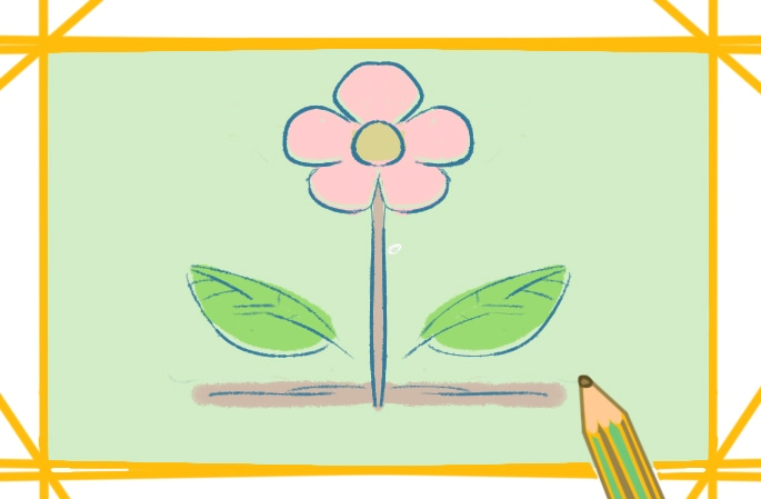容易简单的花简笔画图片怎么画