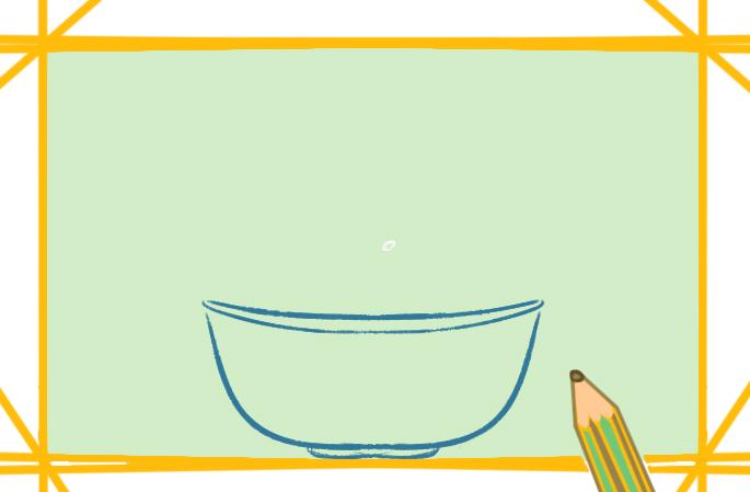 一盆水果上色简笔画要怎么画