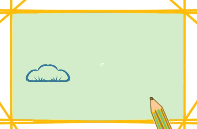 创意松树上色简笔画图片教程