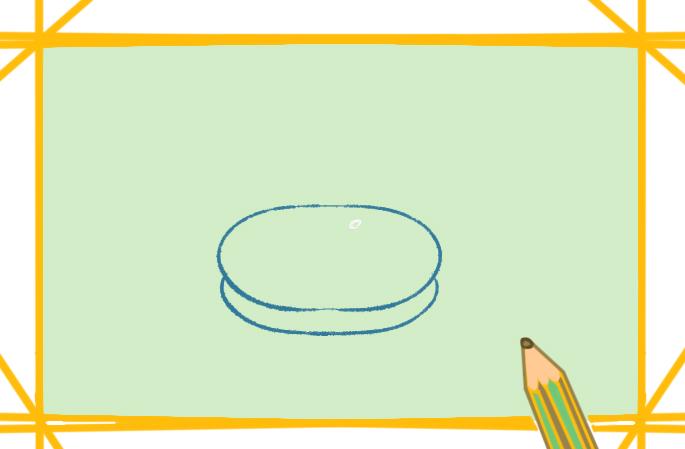 简单的柿饼上色简笔画要怎么画