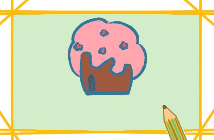 简单容易的樱花简笔画图片好看容易
