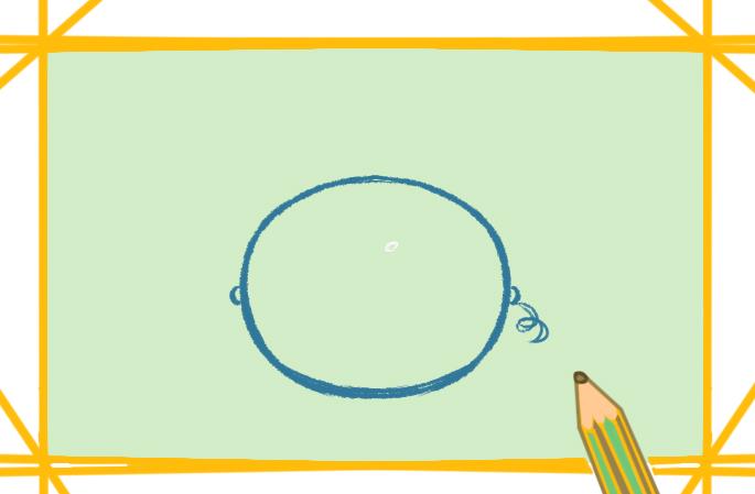 夏天的西瓜简笔画图片怎么画