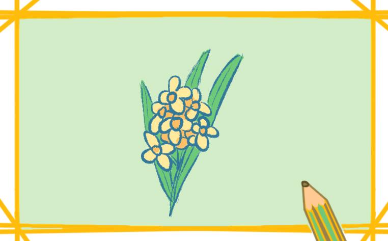 简单漂亮的桂花怎么画