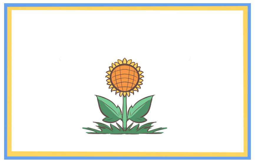 简单的向日葵上色简笔画要怎么画
