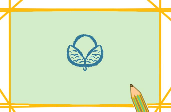 圆滚滚的荔枝简笔画图片怎么画