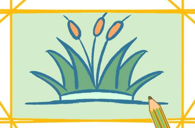 简单好看的植物简笔画图片怎么画