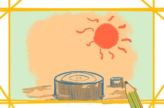 炎熱的天氣的圖片怎么畫簡單又好看