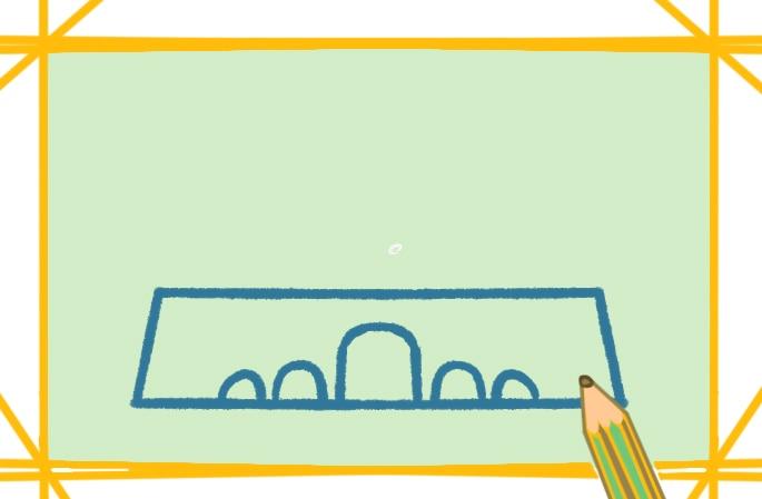 好看的天安門簡筆畫怎么畫簡單畫