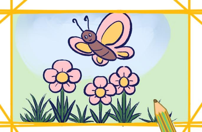春天的景色簡筆畫圖片怎么畫