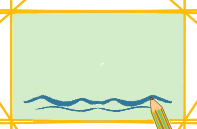 海上的岛屿上色简笔画要怎么画