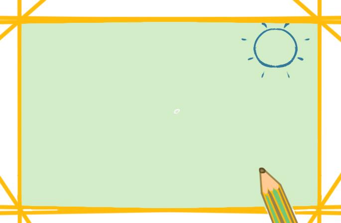 金黄色沙漠上色简笔画图片教程