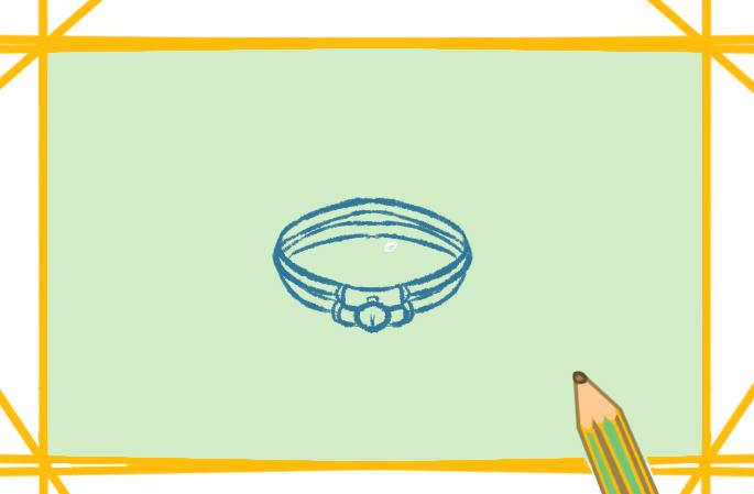 简单好看的手链简笔画怎么画