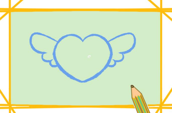 漂亮的小爱心上色简笔画要怎么画