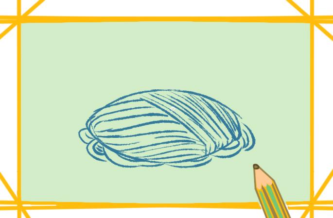 好看的意大利面上色简笔画要怎么画