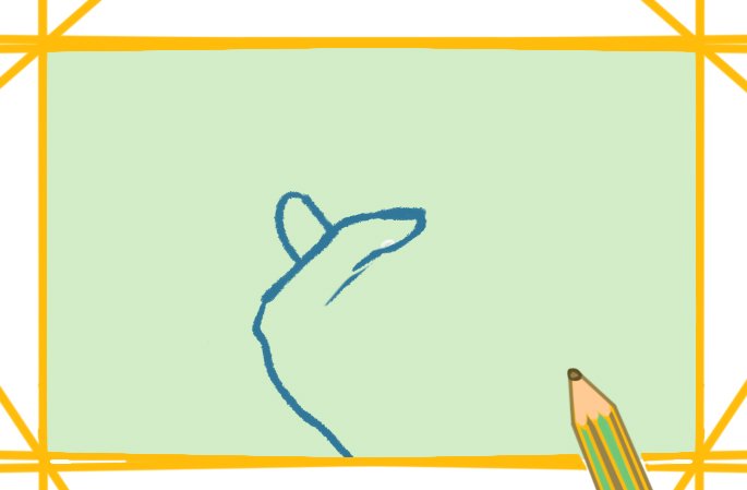 简单的比心上色简笔画要怎么画