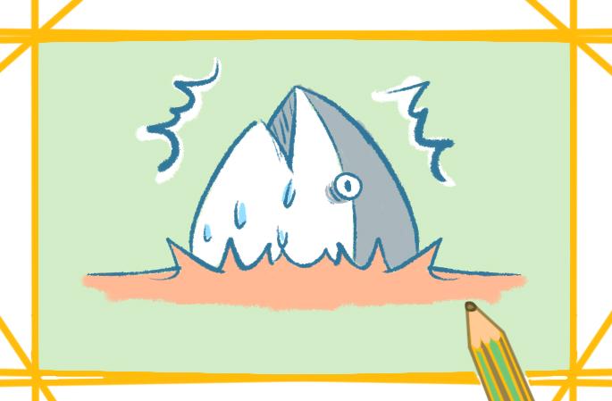 可爱好看的鱼上色简笔画要怎么画
